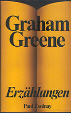 Graham Greene, Erzählungen, Leinen gebundene Ausgabe m. Umschlag, Zsolnay 1977