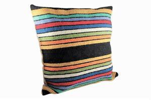 Handmade pillow Alentejo regional blanket, handcrafted pad, portugal cushion