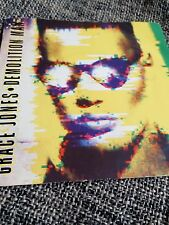 "Grace Jones - Demolition Man 7"" single EX/EX"
