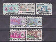 melaka malacca SG 61/7,flowe,set MNH      c1299