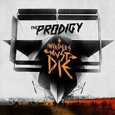 THE PRODIGY Invaders Must Die (2009) ltd edition 11-trk CD+DVD album NEW/SEALED