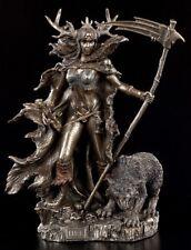 Hel Figurine - nordique Déesse Le Unterwelt - Viking STATUETTE Asen VERONESE