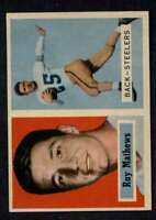 1957 Topps #63 Ray Mathews NM/NM+ Steelers A403