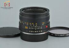 Excellent-!! Leica SUMMICRON-R 50mm f/2 3-Cam
