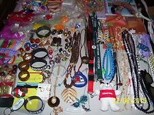 Lot Of Mixed Jewelry Treasures, Over Stock Sale, Bracelets, Necklaces, Crafts Fs