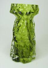 INGRID GLAS VINTAGE 70er Jahre KURT WOKAN Vase Borkenglas Hyazinthenglas TOP!!