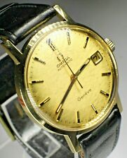 NOS!!! OMEGA Geneve 18K(0.750) Solid Gold Cal.565 Automatic MINT rare