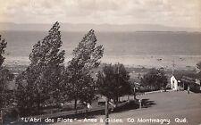 Golfe à l'Abri des Flots Anse à Gilles CAP ST-IGNACE Quebec 1930-40s Allard RPPC