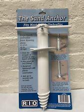 Rio Beach The Sand Anchor For Beach Umbrellas & Fishing Rod Holder One Fits All