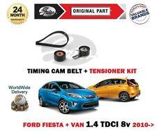 Pour Ford Fiesta + Van De 1.4 TDCI 70bhp F6JD 2010> Courroie de Distribution +