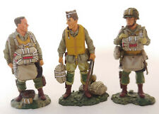 King & Country D Day 44 WWII Paratrooper 3 Figure Set Retired DD31