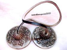 """Tibetan Tingsha Meditation Bells Cymbals 2.3"""" Medium with Dragon TINGSHA BELLS"""