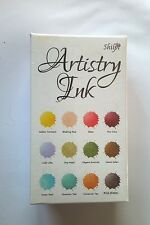 Artistry Ink - Mini Ink Pads Golden Turmeric Collection from Claritystamp