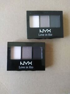 NYX Love In Rio Eyeshadow Palette~Color: LIR01 No Tan Lines Allowed 2pk