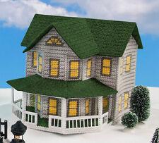 Mary Maxim Grey House Plastic Canvas Kit