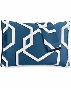 Hotel Collection 2 King Pillow Shams Imperial 400 TC Pima Cotton Blue 316
