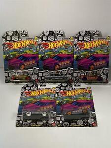 Halloween 2021 Hot Wheels Set of 5 Cars DX91 956D