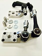 """DANA 60 HIGH STEER CROSOVER STEERING KIT RAISED ARMS 2"""" HD THICK ARMS STUDS HD"""