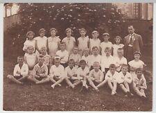 (F628+) Orig. Foto Kindergruppe, Schulklasse, 1920er
