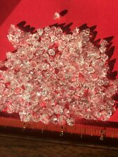 200 Crystal 7X5MM Drops Cut Antique Vintage Beads