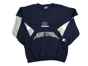 Vintage Penn State Nittany Lions Starter Sweater Mens Large 90s Saquon Barkley