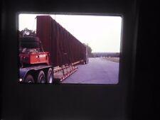 Original Slide Attleboro MA Rest Stop Oversized load Semi truck Autocar Wide c
