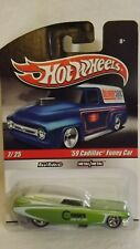 "2010 Hotwheels 7 of 25  '59 Cadillac Funny Car ""Rower King Of Cars"" Real Riders"