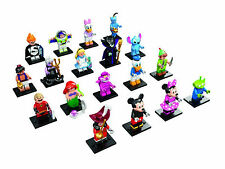 LEGO Minifigures Series DISNEY 71012 COMPLETE SET OF 18 BRAND NEW SEALED RARE