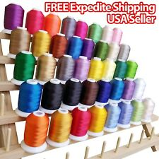 NEW 40 Spools Embroidery Thread Match SE400 Brother / Singer Machine Beautiful