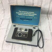 1971 Keystone Everflash 20 Instamatic Camera 40mm Keytar Color Made In The USA
