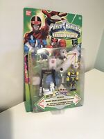 Vtg Action Figure Bandai Power Rangers Time Force Trans Warp Megazord Mip New