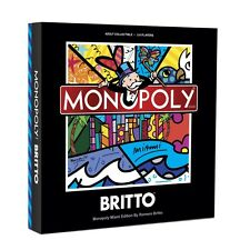 MONOPOLY® MIAMI LIMITED EDITION HAND SIGNED BY ROMERO BRITTO **NEW** SEALED