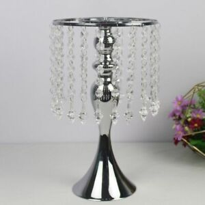 Twist Shaped Stand Flower Holder Metal Tabletop Centerpiece Home Decorations New