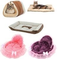 Soft Pet Dog Cat Bed House Kennel Doggy Puppy Warm Cushion Basket Pad Mat