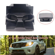Car Cup Holder Insert Rear Console Kit Fit For Nissan Pathfinder Xterra Frontier