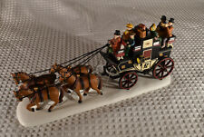 Department 56 ~ Heritage Village ~ Holiday Coach~ Accessory ~ 55611