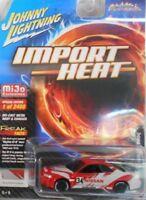 Johnny Lightning 1:64 1999 Nissan Skyline GT-R BNR34 Diecast Gray Red JLCP7129