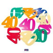 Tischkonfetti XL - Zahl 40