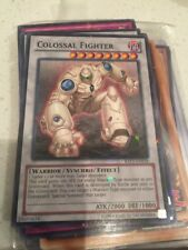 - Colossal Fighter Batt-en018 Starfoil Unlimited NM Yugioh