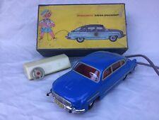 Presu DDR Tatra Elektro Fernlenkauto Spielzeugauto Vintage Boxed