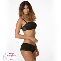 ALTESSE ensemble soutien-gorge push-up et shorty skys lingerie 90B / M