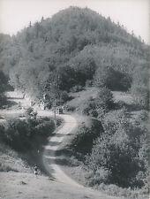 COL DE LA FORCLAZ c. 1948 -  Voiture L'Oratoire   Haute-Savoie - DIV 7484