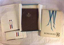 3 Vintage Berkshire Seamed Nylon Thigh Stockings Monte Carlo, Utopia Sz 10.5 M
