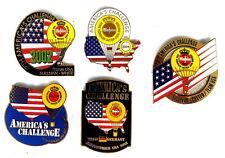 WARSTEINER BALLON Pin / Pins - GORDON BENNETT AMERICA'S CHALLENGE 5 PINS! [3169]