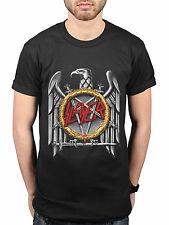 Official Slayer Silver Eagle T-Shirt Trash Metal Raining Blood Angel of Death