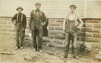 C-1910 Occupation Construction Workers Masons Postcard 20-5047