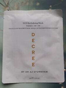 DECREE By DR AJ STURNHAM SOS Revitalising Mask, 35 G, Exp: 02/2024