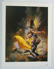 "Richard Corben fantasy poster - 24"" x 19"" - tundra 1993"
