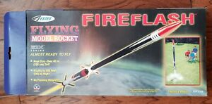 CLASSIC ESTES #2159 FIREFLASH FLYING MODEL ROCKET COMPLETE NEW