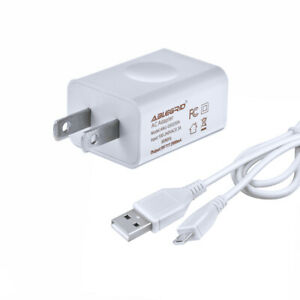 2A AC Adapter + USB Charge Cable For AT&T Velocity ZTE MF923 LTE Mobile Hotspot